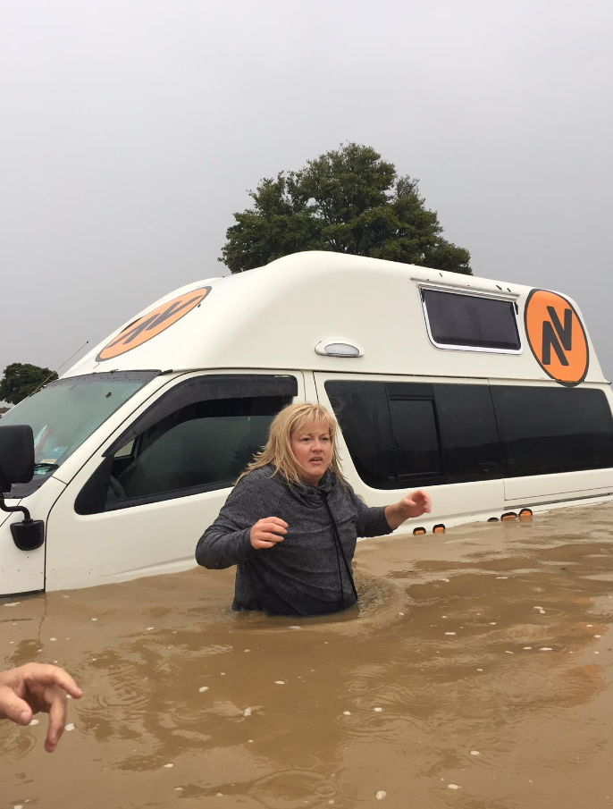Disaster strikes vans in New Zealand... again