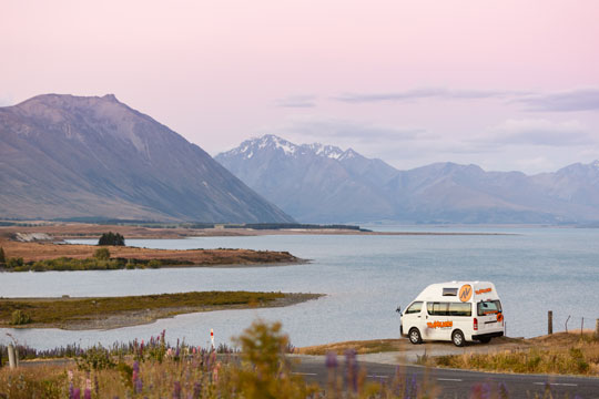 New Zealand Road Trip Campervan
