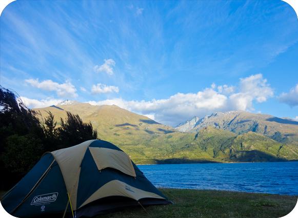 Campsite New Zealand