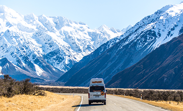 Campervan Itinerary Ideas: Christchurch to Queenstown