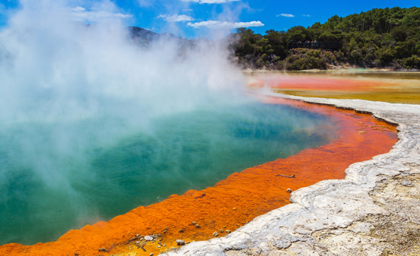 Geothermal Activity in New Zealand