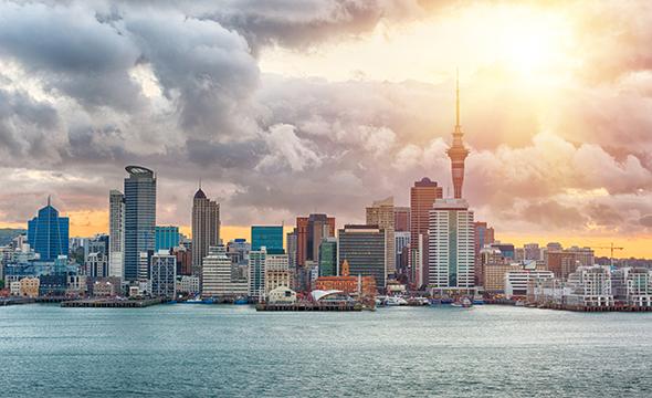 Cities in New Zealand - Auckland