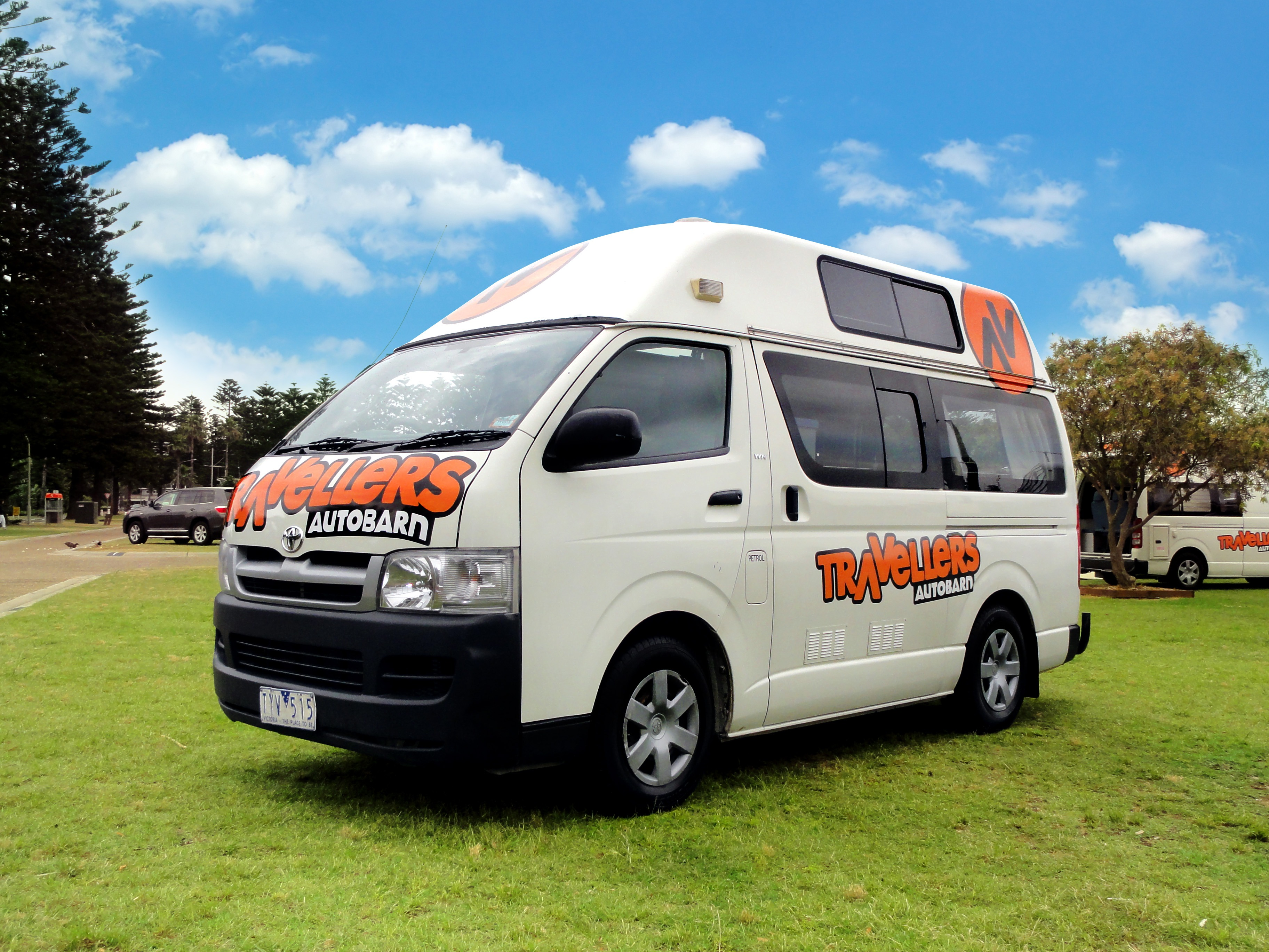 2016 Camper Van >> Hitop Campervan Hire - Travellers Autobarn EN