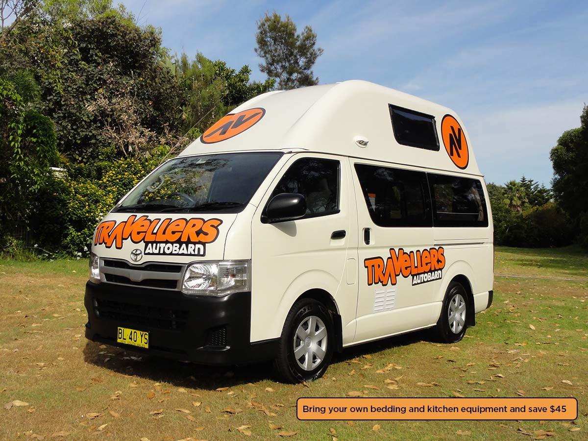 Campervan rental & hire in New Zealand |Travellers Autobarn