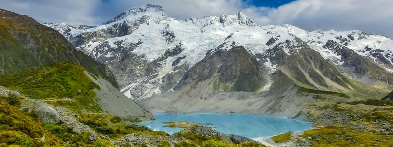 alpine mountain new zealand
