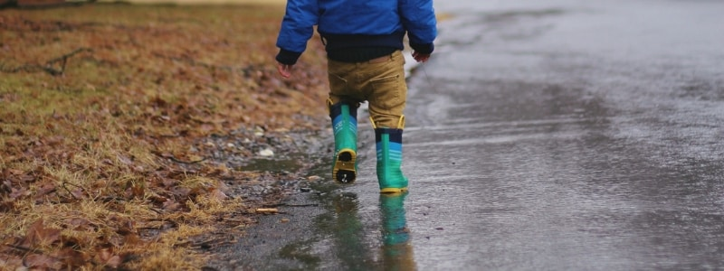 Pack wellies for the family
