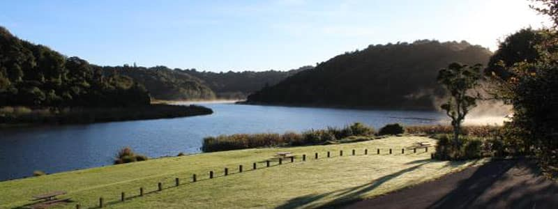 Are you an avid birder? The Rotokare Scenic Reserve may be the perfect freedom camping spot for you.