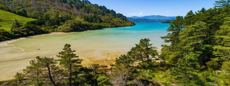 For free camping overlooking Ohingaroa Bay, this camp spot can't be beat. Stays are limited to two nights maximum, and the camping is restricted to-self-contained vehicles only.
