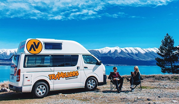 Freedom camping New Zealand apps