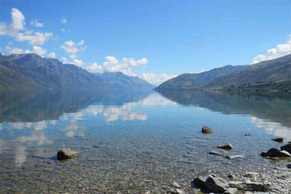 If you're looking for sites that will afford you the flexibility of freedom camping in Queenstown, Twenty Five Mile Stream, a ways up from Meiklejohns Bay, is a great place to rest your head and make your ground zero, so to speak.