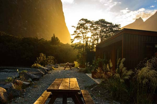 Moody, stormy and utterly breathtaking: this is Milford Sound Lodge.