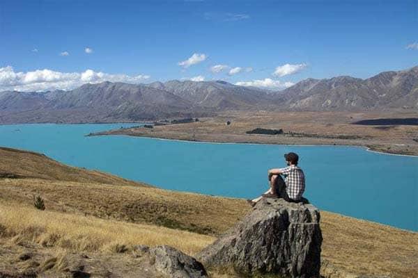 Lake Tekapo freedom camping