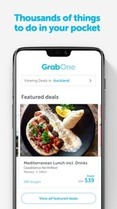 Featured Deals - GrabOne App