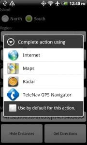 Open Map Coordinates - NZ Campsite Finder App