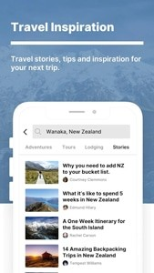 Travel Inspiration  - The Outbound Collective App