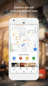 Google Maps Local Shops