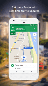 Google Maps Traffic Updates