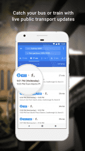 Google Maps Transport Updates