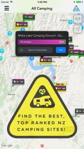 Rankers Camping App - Top Sites