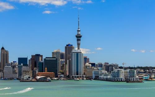 Auckland New Zealand Skyline