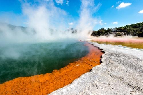 Geothermal Springs Rotorua New Zealand