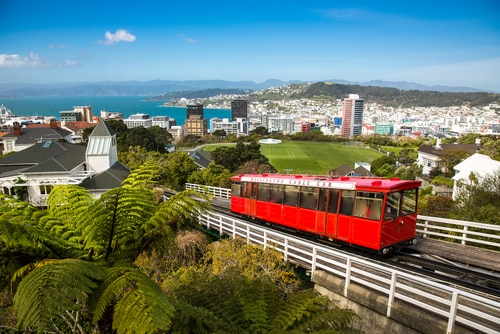 Cable Car Wellington New Zealand