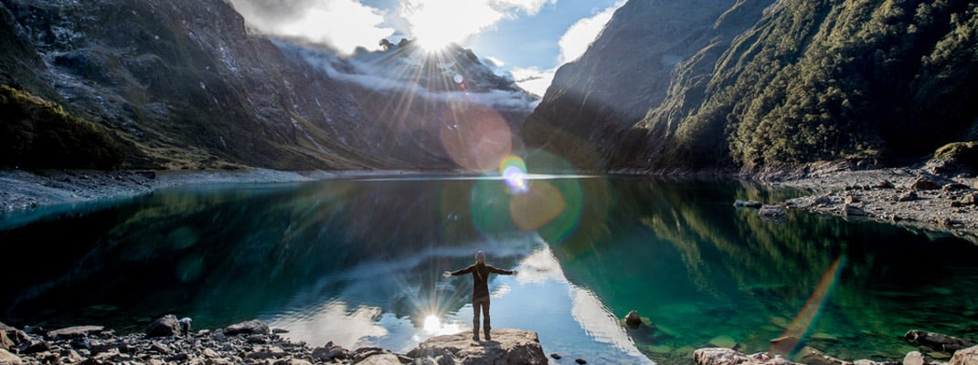 Lake Marian Track- Best South Island Hikes New Zealand