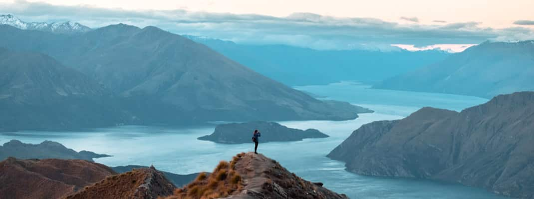 Roys Peak Track - Best South Island Hikes New Zealand